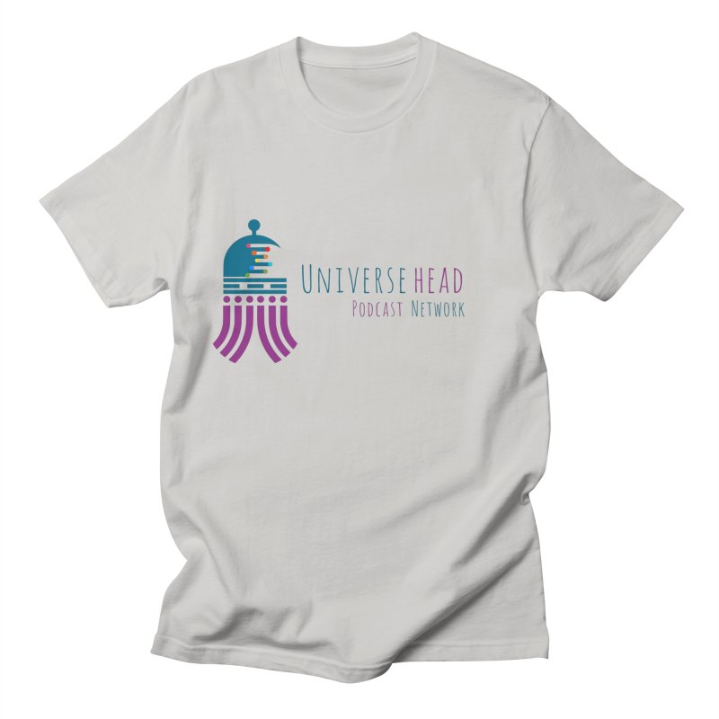 universeSquid w/text Women's Regular Unisex T-Shirt by Universehead Podcast Network Store