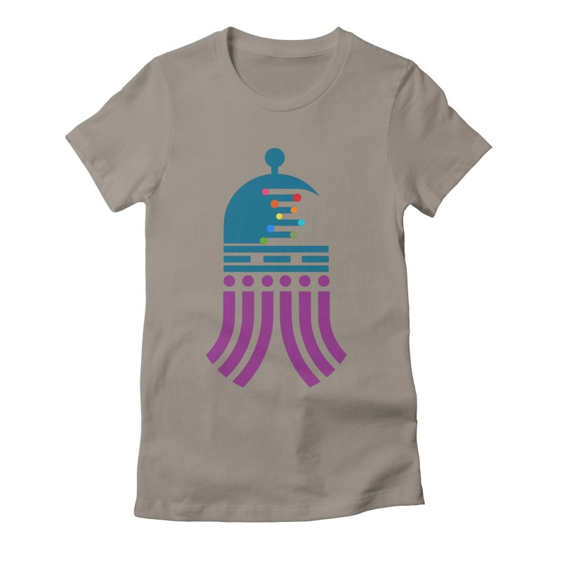 universeSquid Women's Fitted T-Shirt by Universehead Podcast Network Store