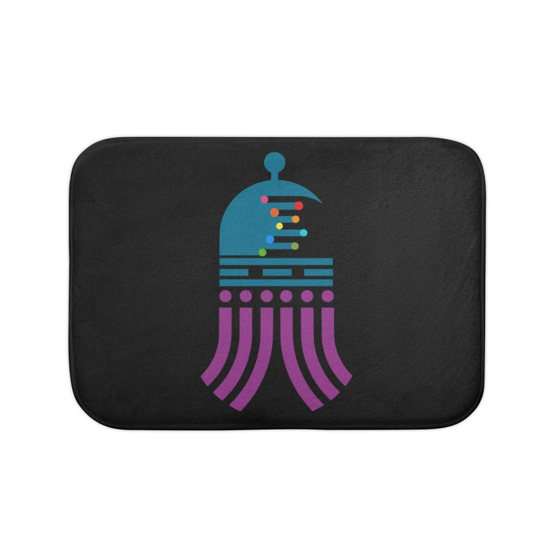 universeSquid Home Bath Mat by Universehead Podcast Network Store