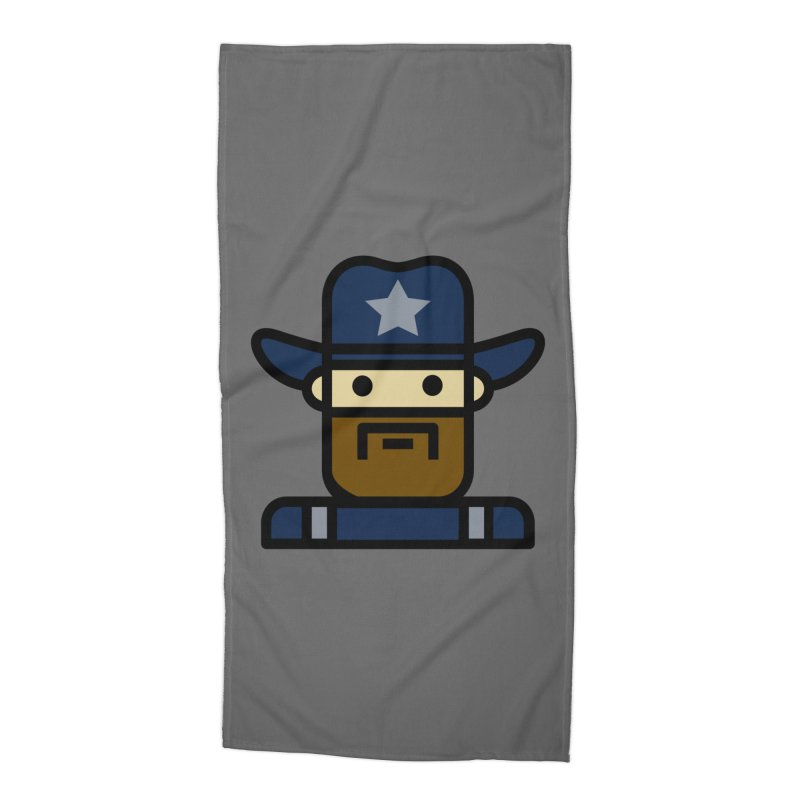 Team Dan Accessories Beach Towel by Universehead Podcast Network Store