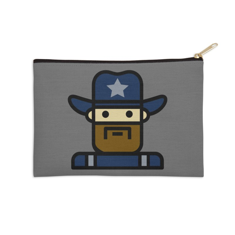 Team Dan Accessories Zip Pouch by Universehead Podcast Network Store