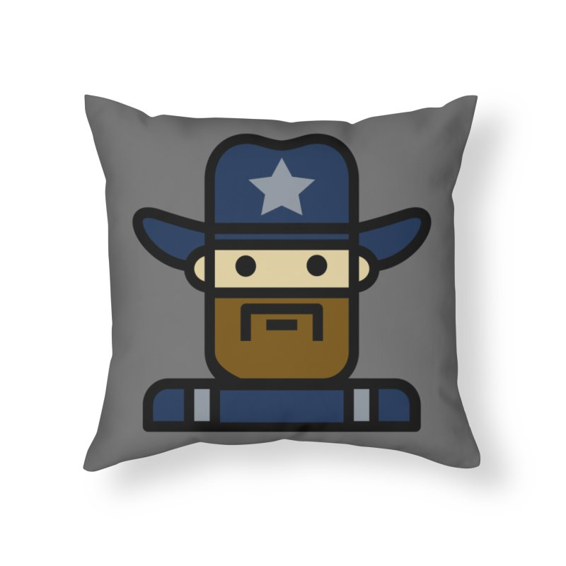 Team Dan Home Throw Pillow by Universehead Podcast Network Store