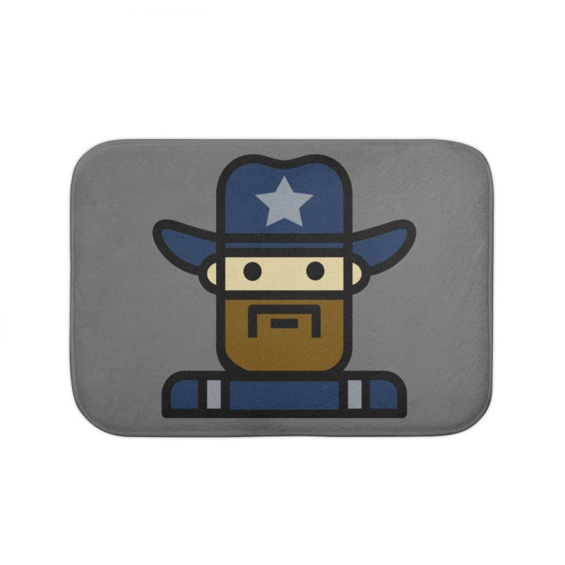 Team Dan Home Bath Mat by Universehead Podcast Network Store