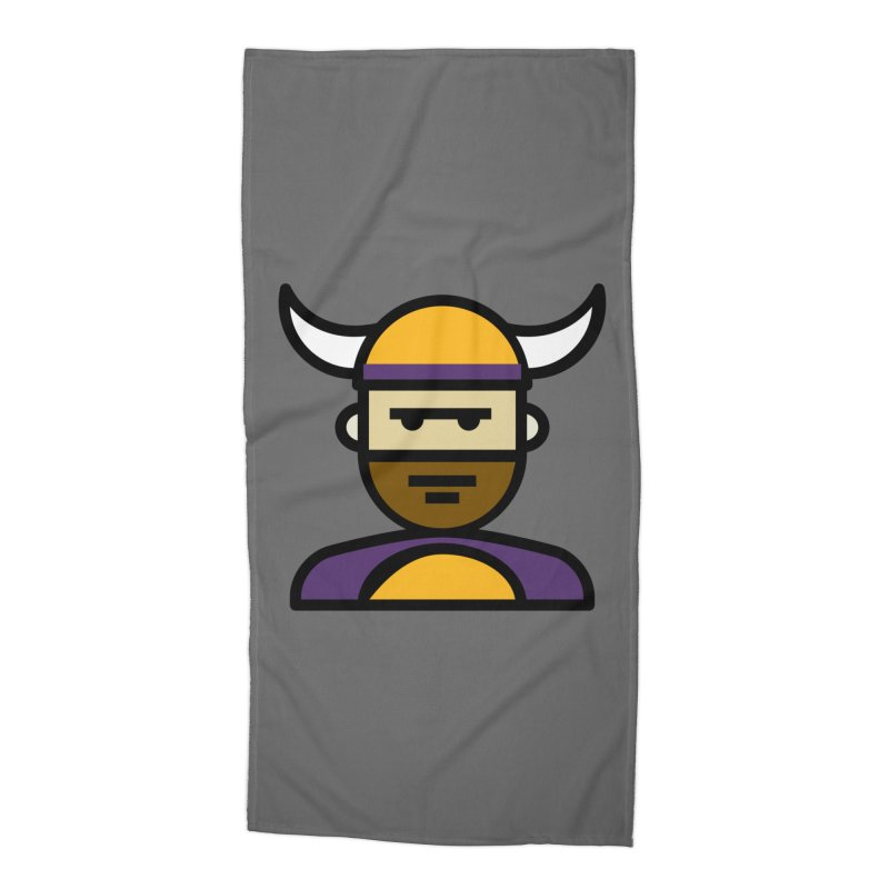Team Scott Accessories Beach Towel by Universehead Podcast Network Store