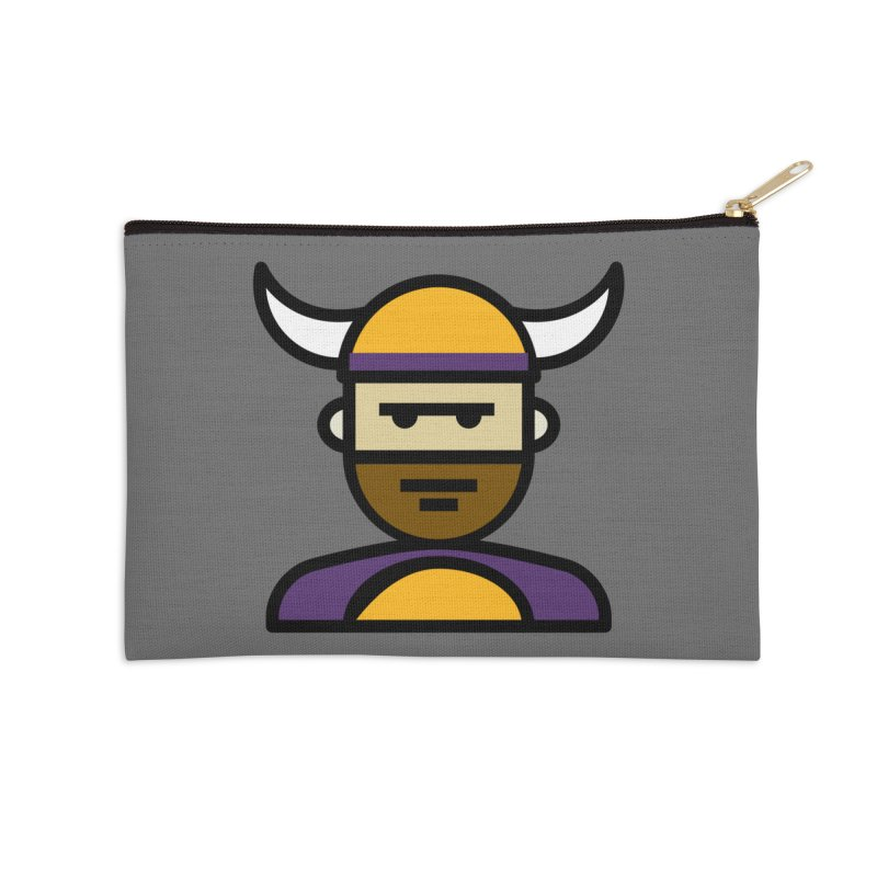Team Scott Accessories Zip Pouch by Universehead Podcast Network Store