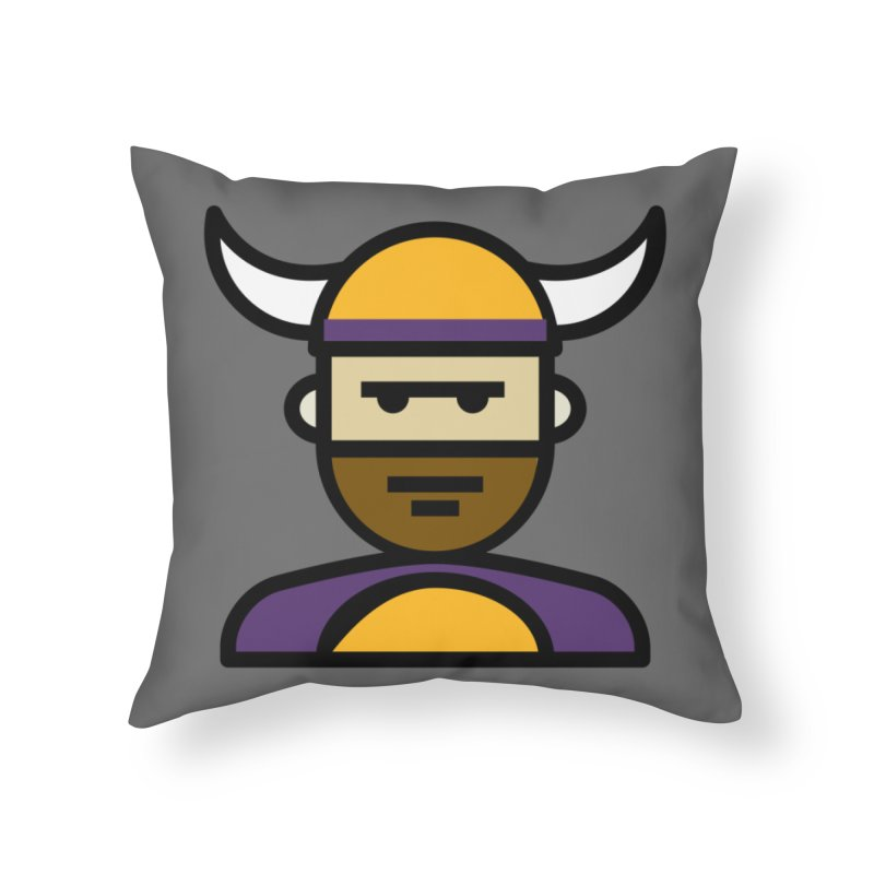 Team Scott Home Throw Pillow by Universehead Podcast Network Store