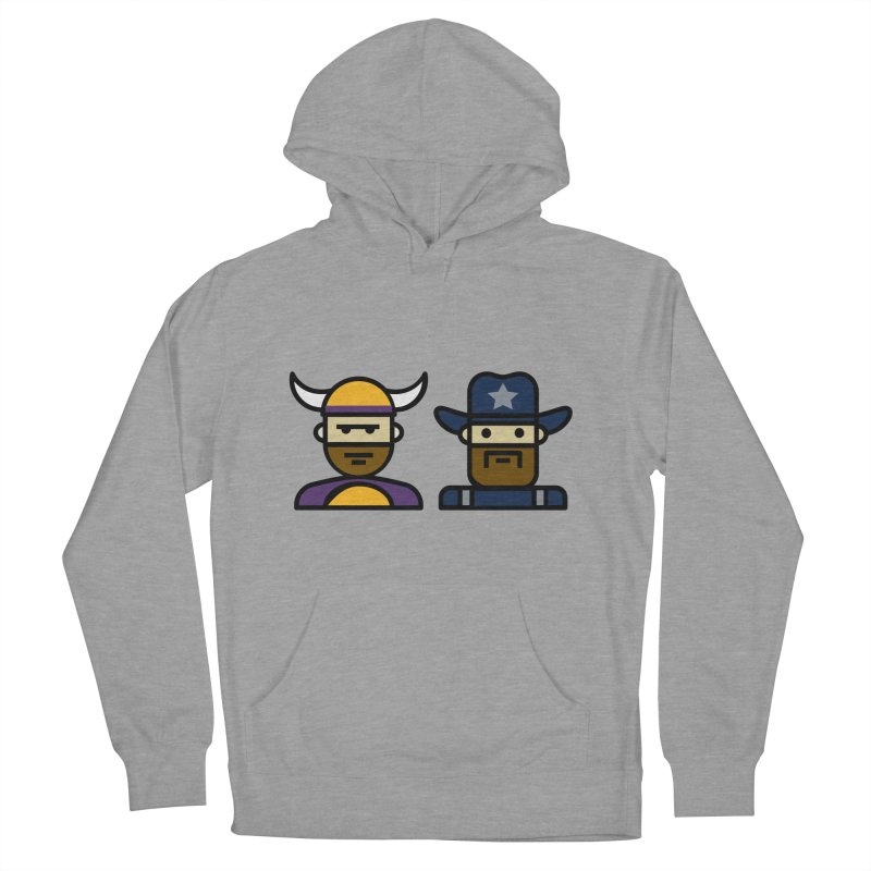 Team Push Off Men's French Terry Pullover Hoody by Universehead Podcast Network Store