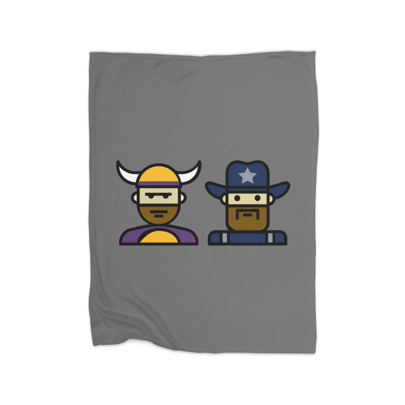 Team Push Off Home Blanket by Universehead Podcast Network Store