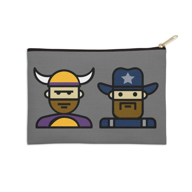 Team Push Off Accessories Zip Pouch by Universehead Podcast Network Store