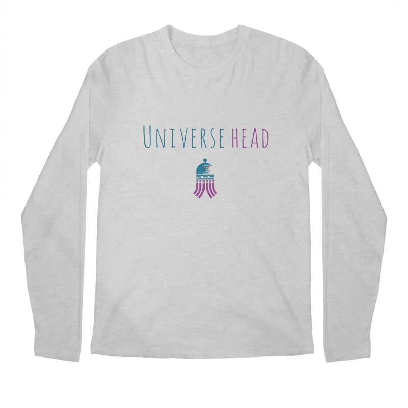 Universehead Men's Regular Longsleeve T-Shirt by Universehead Podcast Network Store