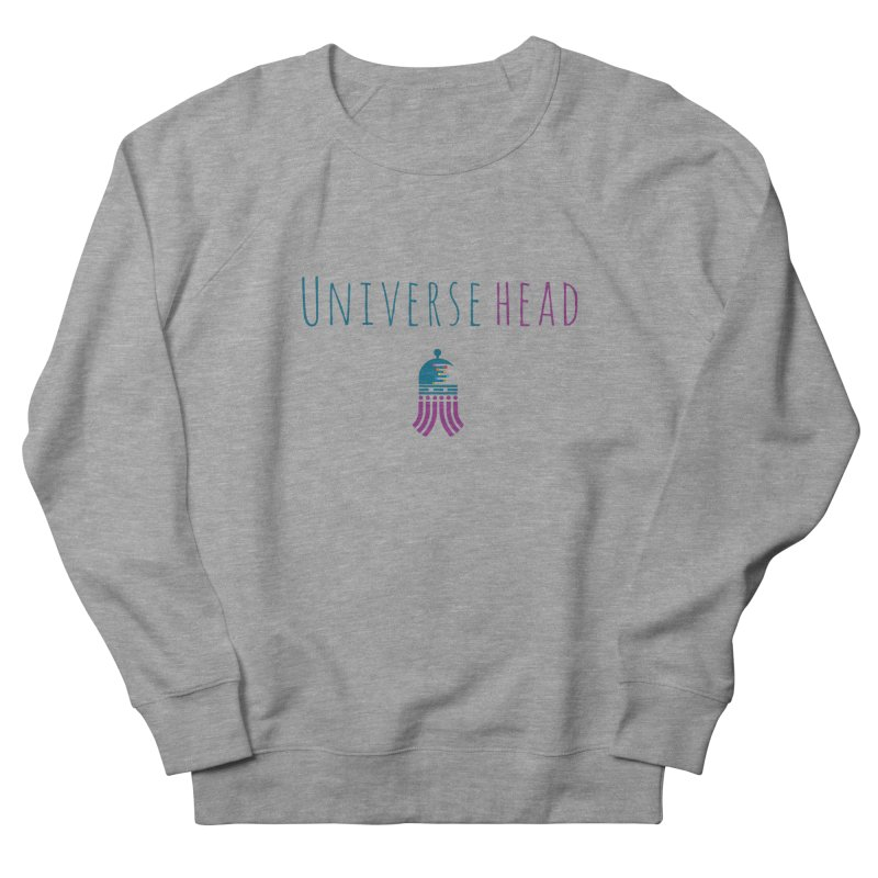 Universehead Men's French Terry Sweatshirt by Universehead Podcast Network Store
