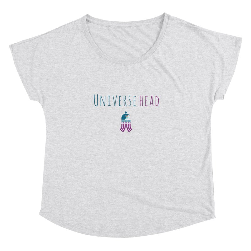 Universehead Women's Dolman Scoop Neck by Universehead Podcast Network Store