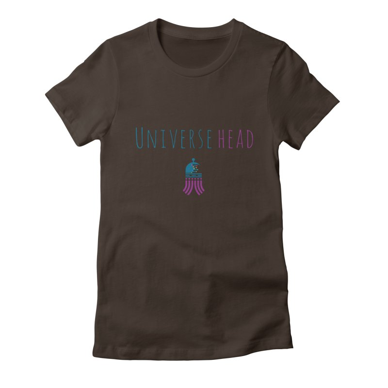 Universehead Women's Fitted T-Shirt by Universehead Podcast Network Store