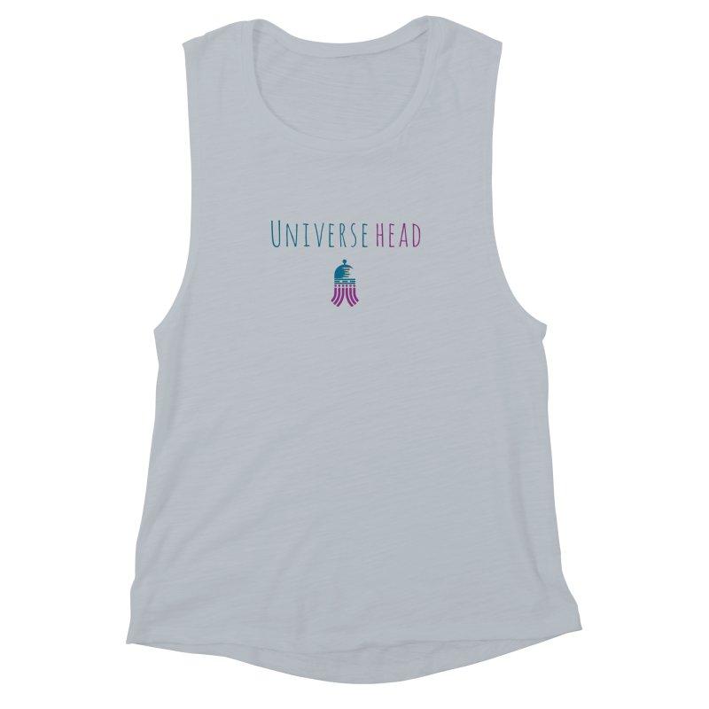 Universehead Women's Muscle Tank by Universehead Podcast Network Store