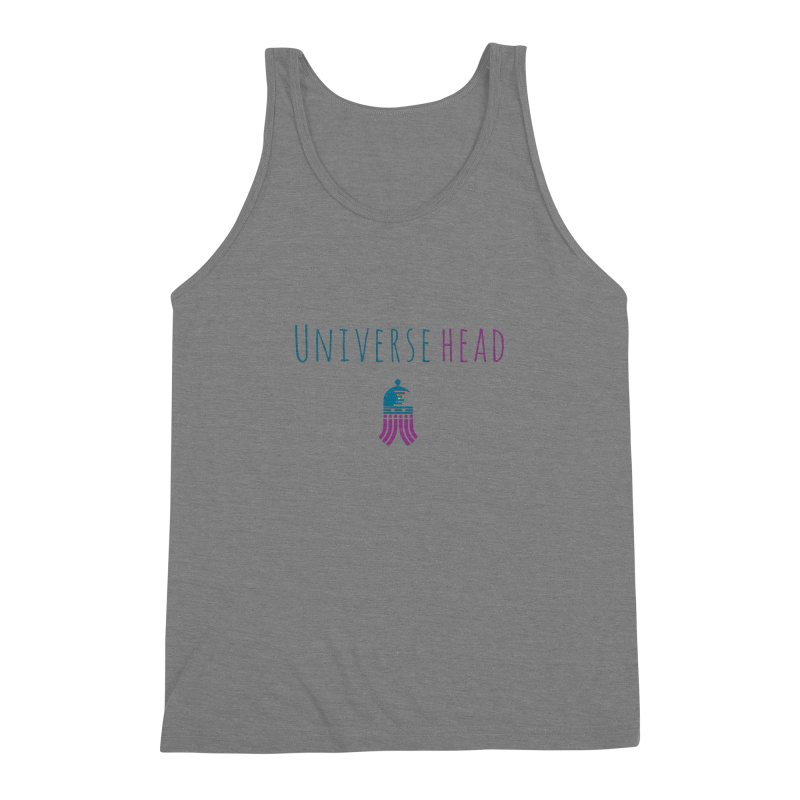 Universehead Men's Triblend Tank by Universehead Podcast Network Store