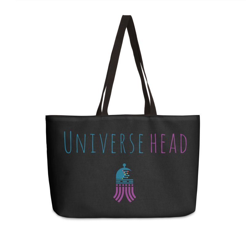 Universehead Accessories Weekender Bag Bag by Universehead Podcast Network Store