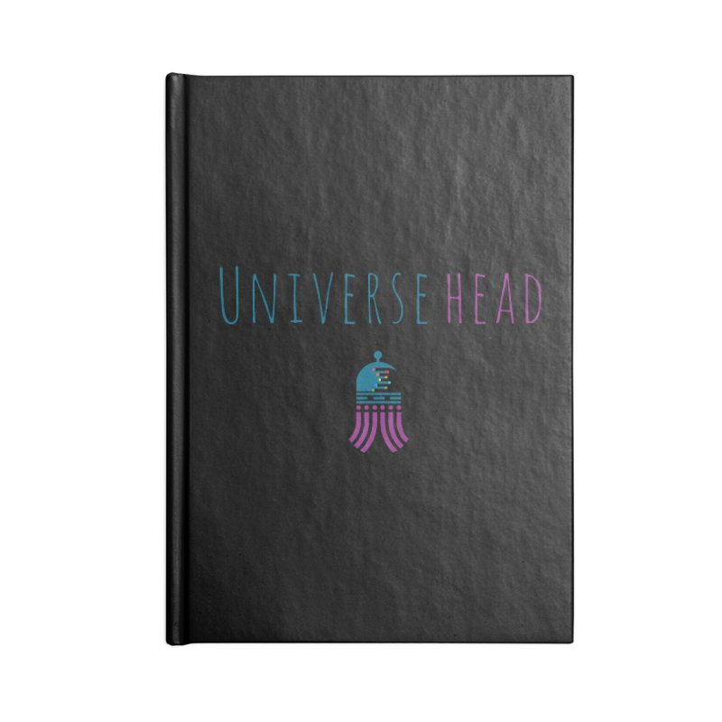Universehead Accessories Blank Journal Notebook by Universehead Podcast Network Store