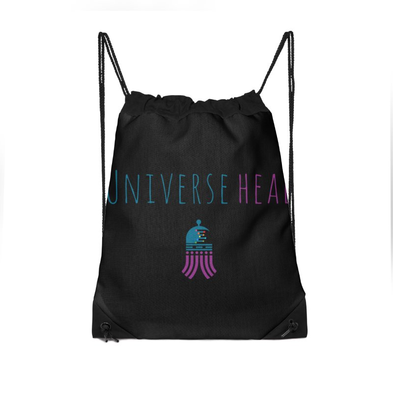 Universehead Accessories Drawstring Bag Bag by Universehead Podcast Network Store