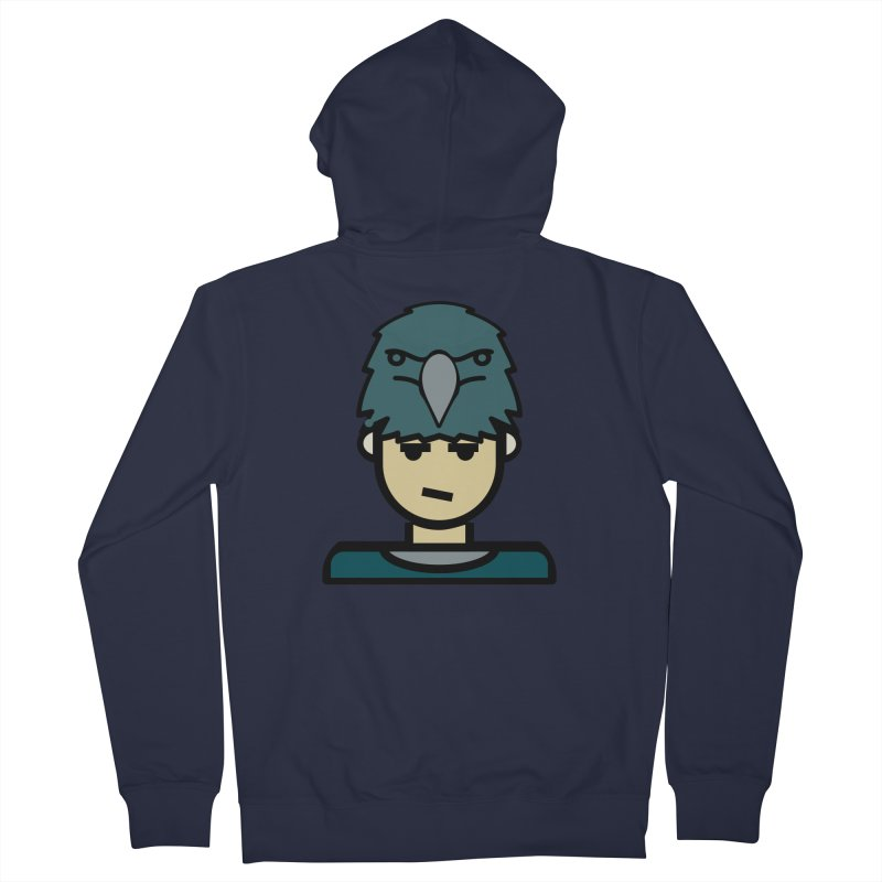 Team Todd Women's French Terry Zip-Up Hoody by Universehead Podcast Network Store