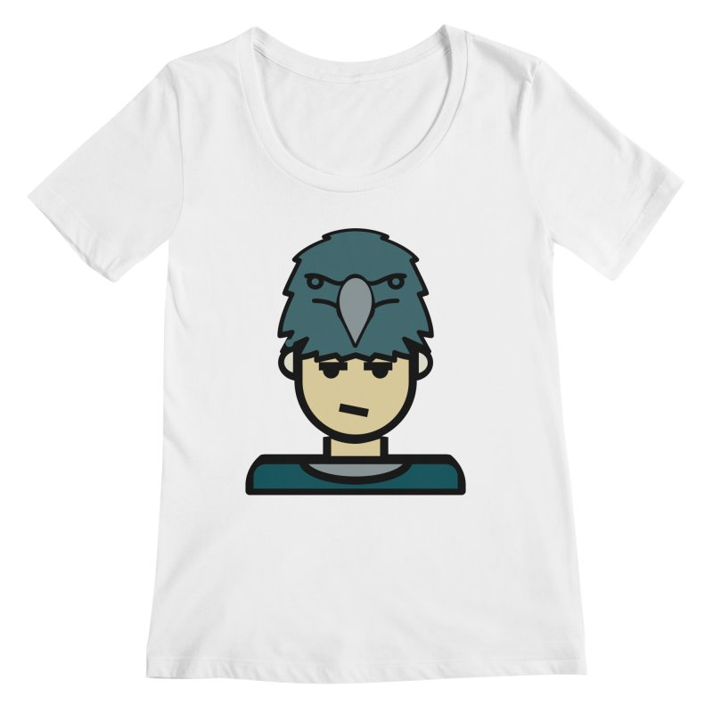 Team Todd Women's Regular Scoop Neck by Universehead Podcast Network Store