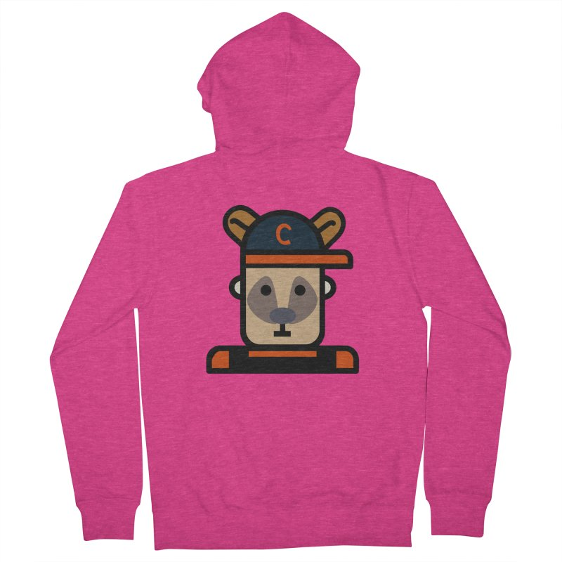 Team Kenny Women's French Terry Zip-Up Hoody by Universehead Podcast Network Store