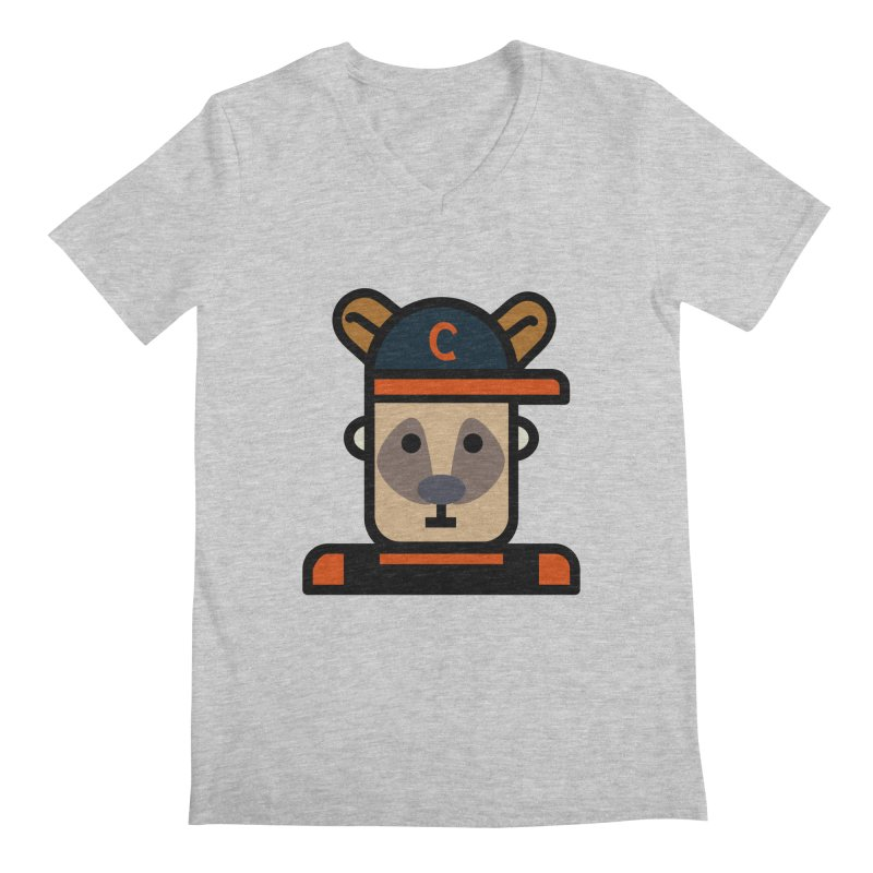 Team Kenny Men's Regular V-Neck by Universehead Podcast Network Store