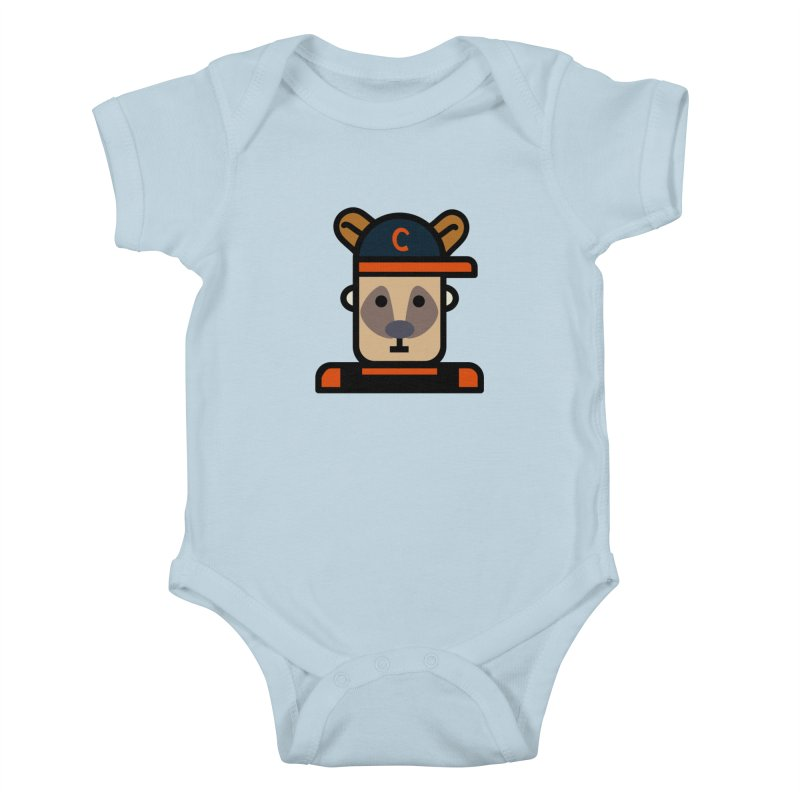 Team Kenny Kids Baby Bodysuit by Universehead Podcast Network Store