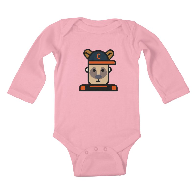 Team Kenny Kids Baby Longsleeve Bodysuit by Universehead Podcast Network Store