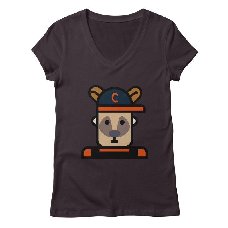 Team Kenny Women's Regular V-Neck by Universehead Podcast Network Store