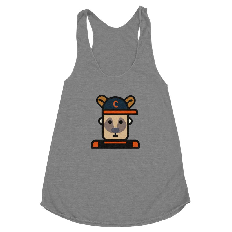 Team Kenny Women's Racerback Triblend Tank by Universehead Podcast Network Store