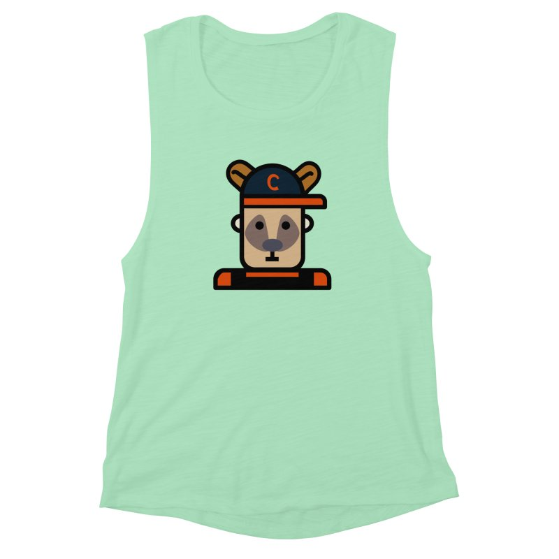 Team Kenny Women's Muscle Tank by Universehead Podcast Network Store