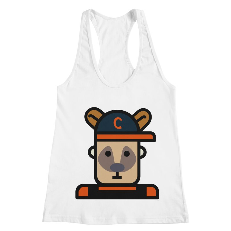 Team Kenny Women's Racerback Tank by Universehead Podcast Network Store
