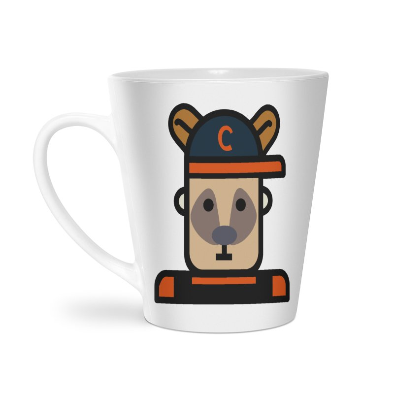 Team Kenny Accessories Latte Mug by Universehead Podcast Network Store