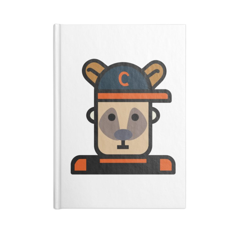 Team Kenny Accessories Lined Journal Notebook by Universehead Podcast Network Store
