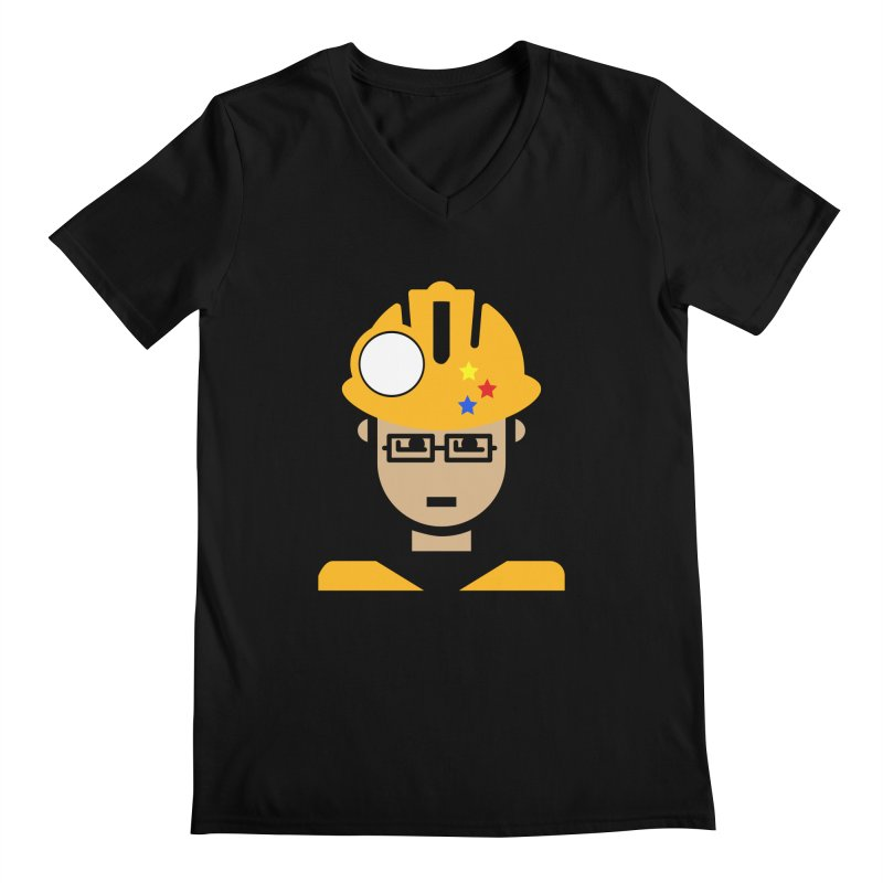 Team Chris Men's Regular V-Neck by Universehead Podcast Network Store