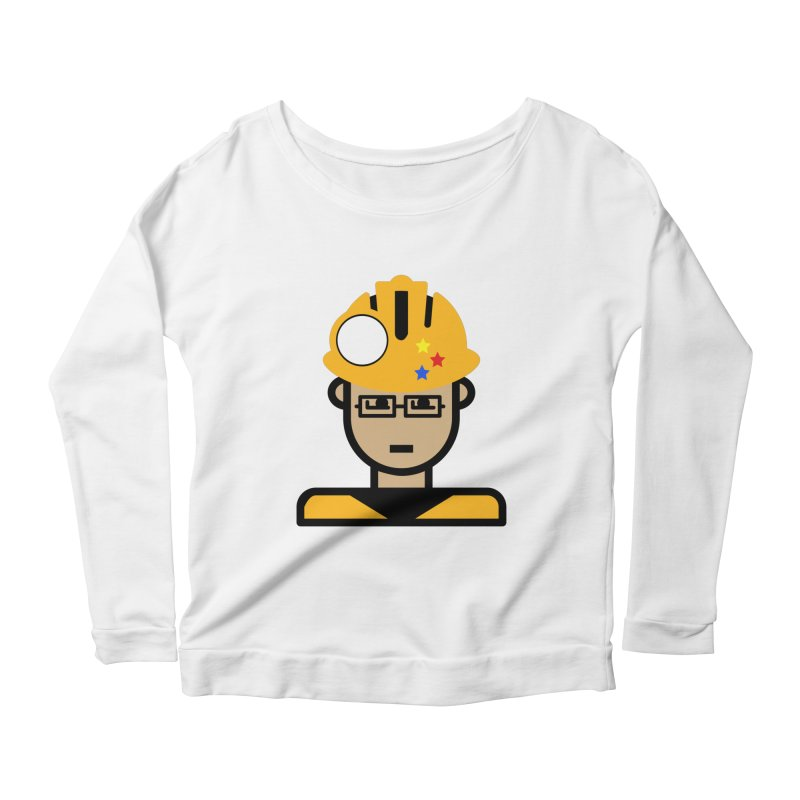 Team Chris Women's Scoop Neck Longsleeve T-Shirt by Universehead Podcast Network Store