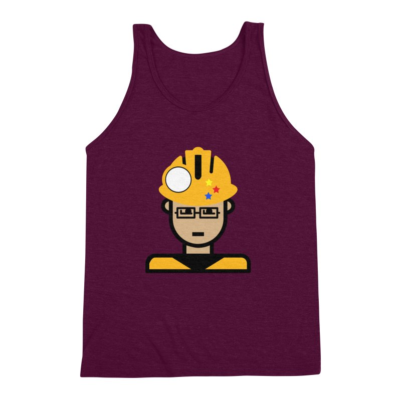 Team Chris Men's Triblend Tank by Universehead Podcast Network Store