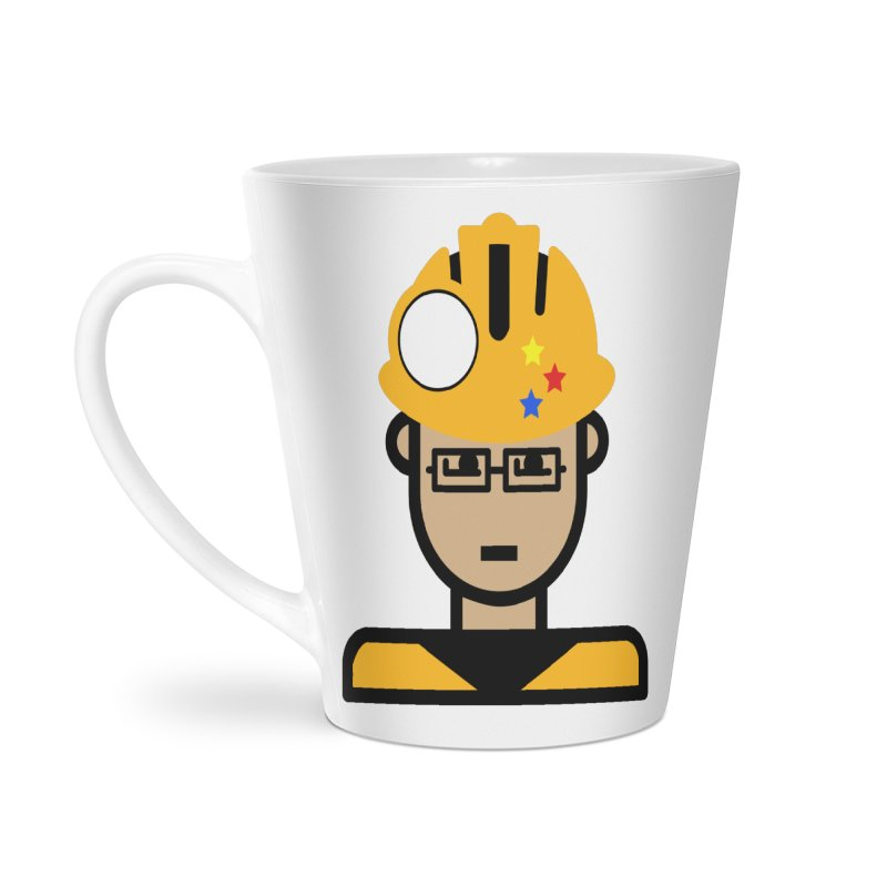 Team Chris Accessories Latte Mug by Universehead Podcast Network Store