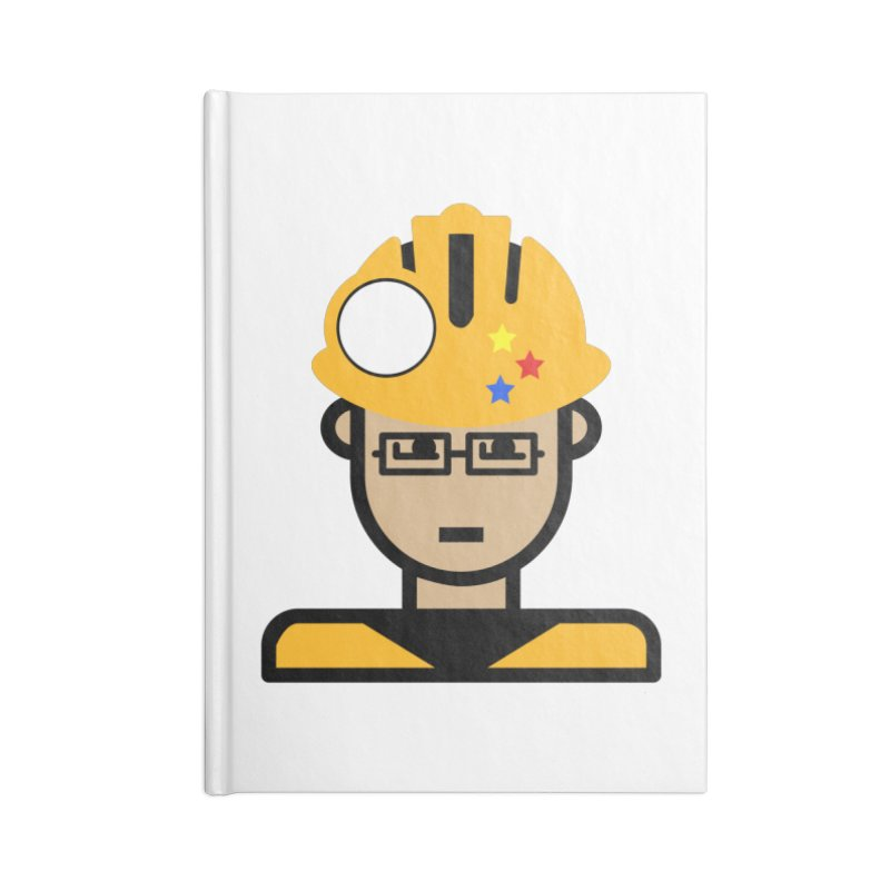 Team Chris Accessories Lined Journal Notebook by Universehead Podcast Network Store