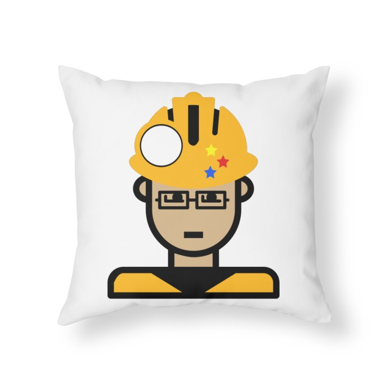 Team Chris Home Throw Pillow by Universehead Podcast Network Store