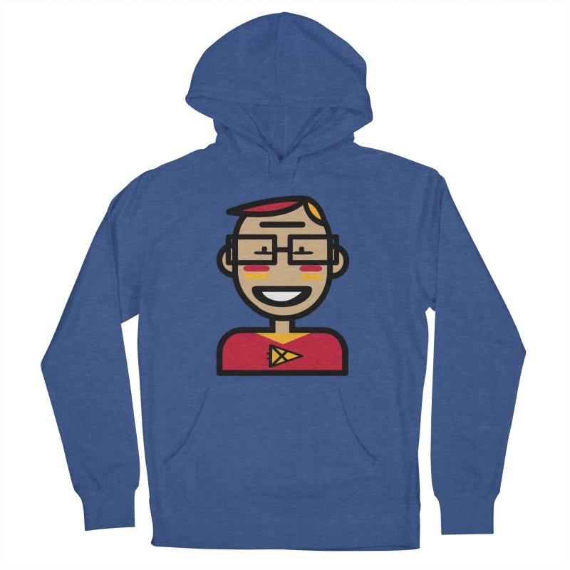 Team Garrett Men's French Terry Pullover Hoody by Universehead Podcast Network Store