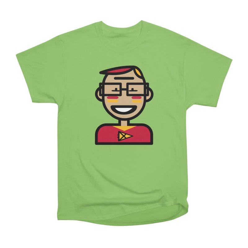 Team Garrett Men's Heavyweight T-Shirt by Universehead Podcast Network Store