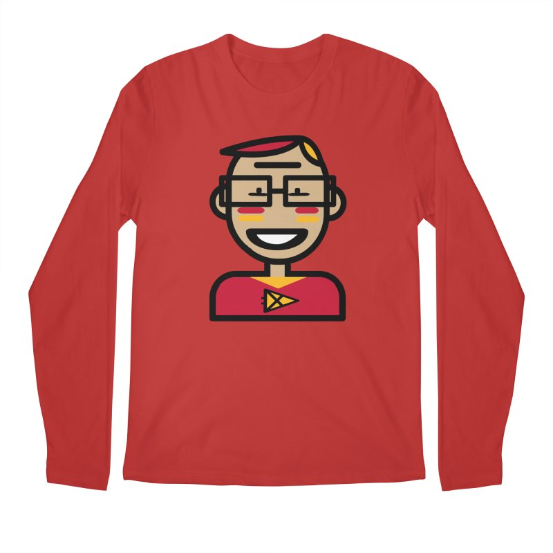 Team Garrett Men's Regular Longsleeve T-Shirt by Universehead Podcast Network Store