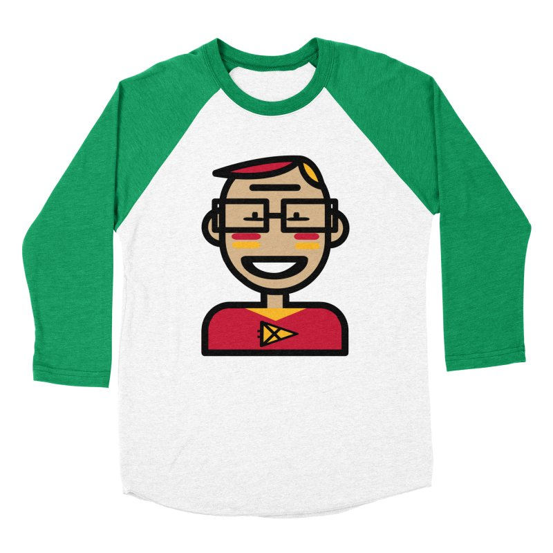 Team Garrett Men's Baseball Triblend Longsleeve T-Shirt by Universehead Podcast Network Store