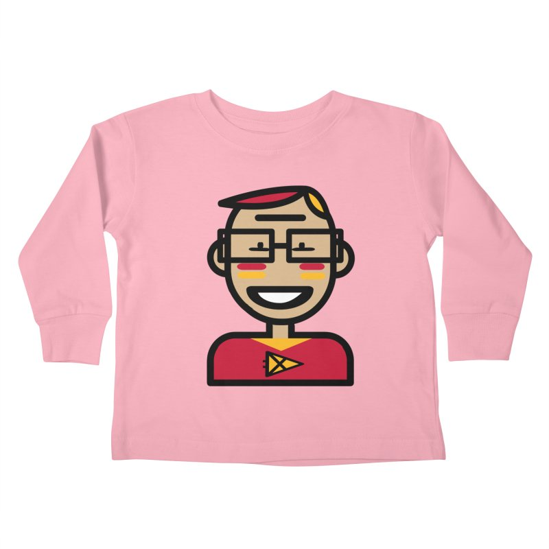 Team Garrett Kids Toddler Longsleeve T-Shirt by Universehead Podcast Network Store