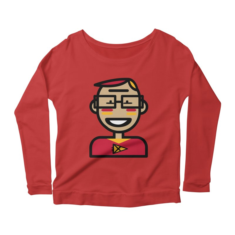 Team Garrett Women's Scoop Neck Longsleeve T-Shirt by Universehead Podcast Network Store