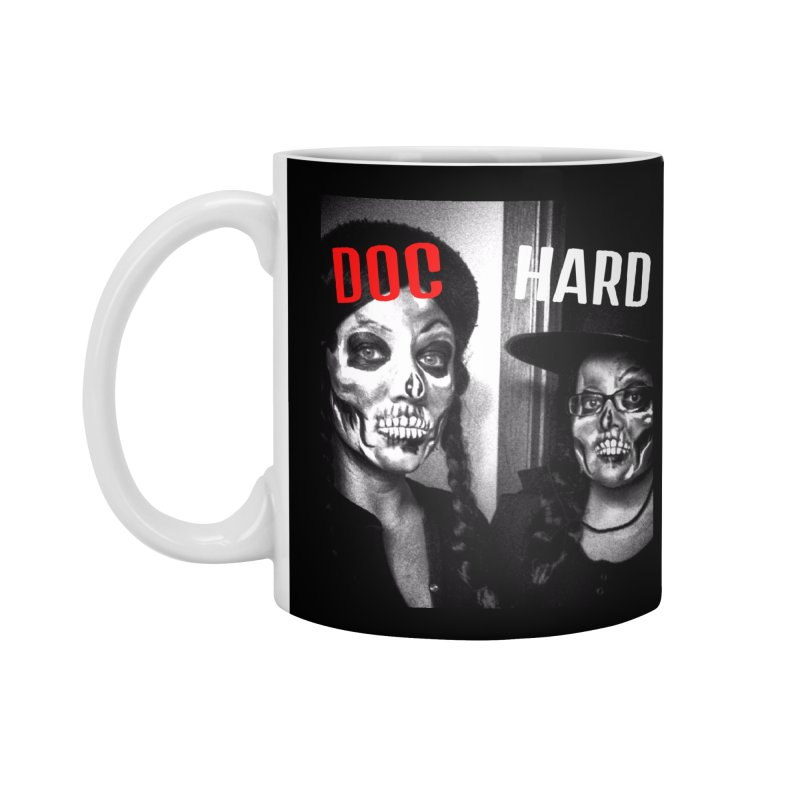 Doc Hard Accessories Standard Mug by Universehead Podcast Network Store