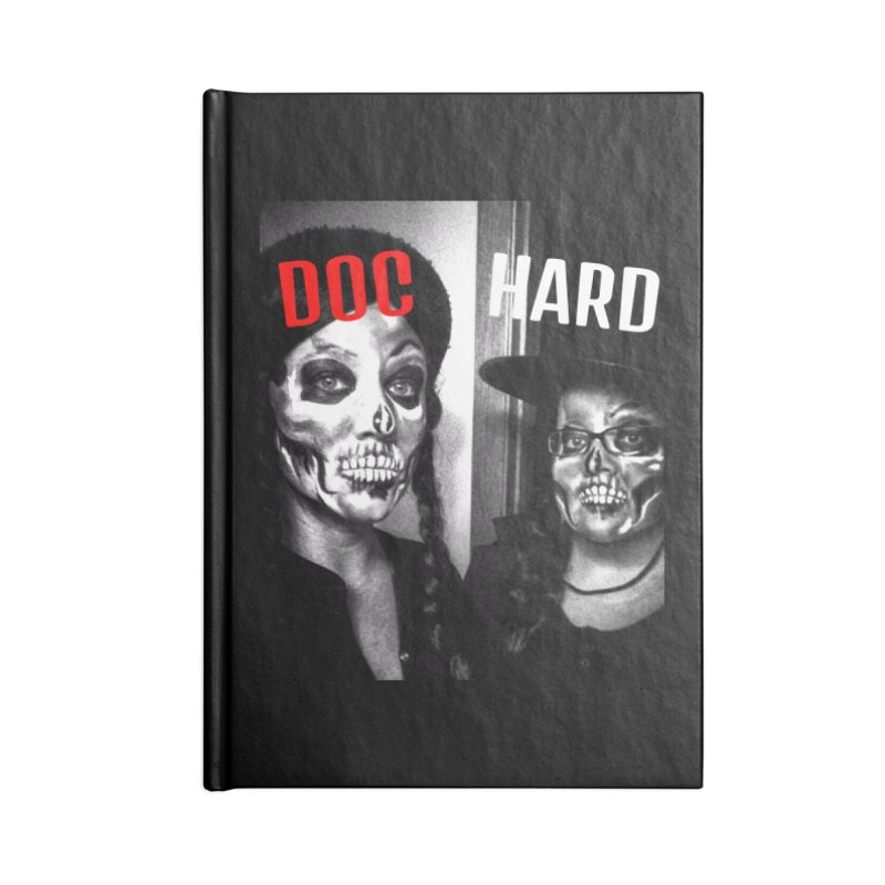 Doc Hard Accessories Lined Journal Notebook by Universehead Podcast Network Store