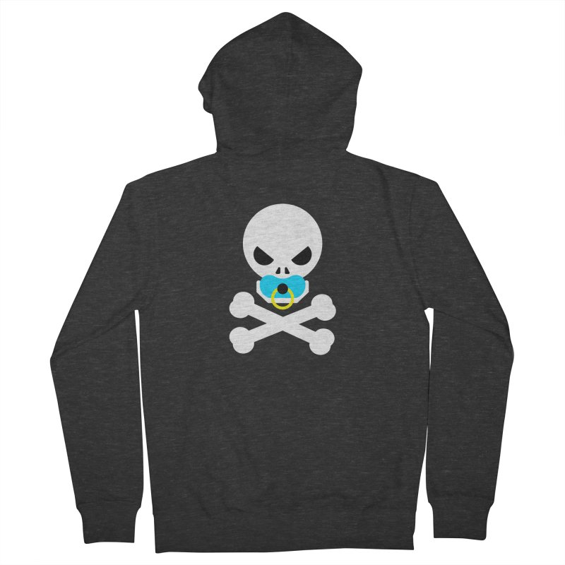 Jolly Roger's Baby Women's French Terry Zip-Up Hoody by Universehead Podcast Network Store