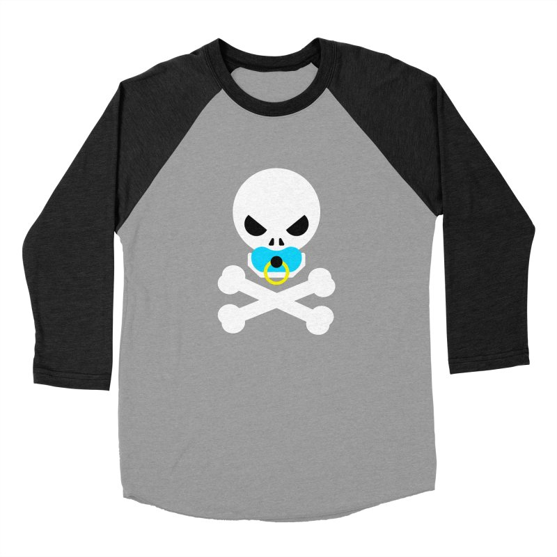 Jolly Roger's Baby Women's Baseball Triblend Longsleeve T-Shirt by Universehead Podcast Network Store